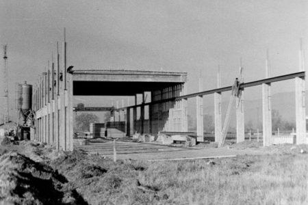 Aufbau des Fabrikationswerk, 1963