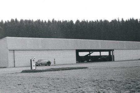 Swissair-Hangar, Hausen am Albis