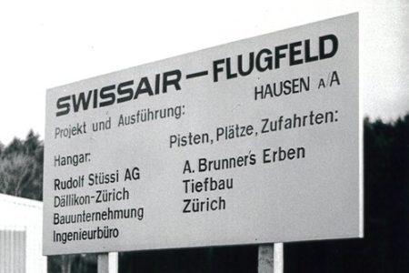Erstkunde Swissair