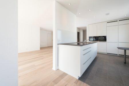 Küche eines Eigentumsobjektes MFH Opus Verde