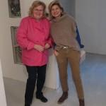 Marianne Honegger und Klara Stüssi freuen sich über einen gelungenen Abend.