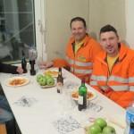 Glücklich und zufriedene Mitarbeiter von der Eduard Meier AG