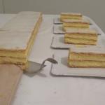 Crèmeschnitten am Meter