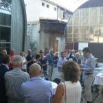 Ansprache von R. Stüssi vor geladenen Gästen