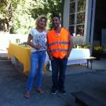 Bereit für die Gäste - Klara Stüssi und Mesud Iseni