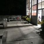 Stüssi Showroom by night