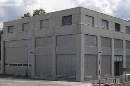 Werkgebäude L, Richi Weiningen (Seitenansicht)
