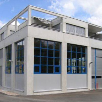Werkgebäude L, Richi Weiningen (Frontansicht)