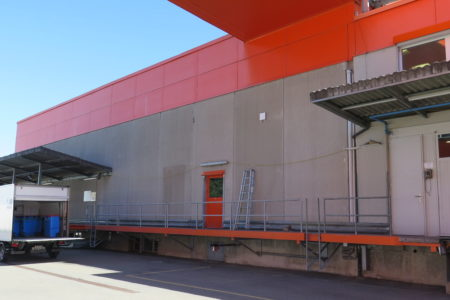 Industriehallen von STÜSSI - im Einsatz bei Zweifel Chips