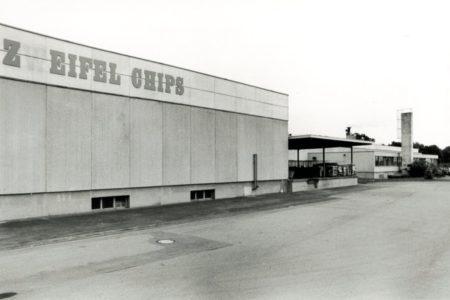 Produktionshalle Zweifel Chips 1969 - erstellt von Stüssi AG