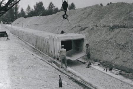Kanalisation Gemeinde Buchs ZH, 1973-1974