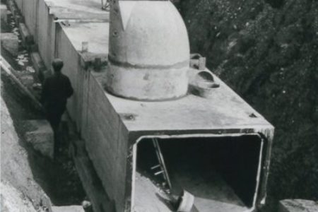 Setzung der Kanalisationselemente Gemeinde Buchs ZH