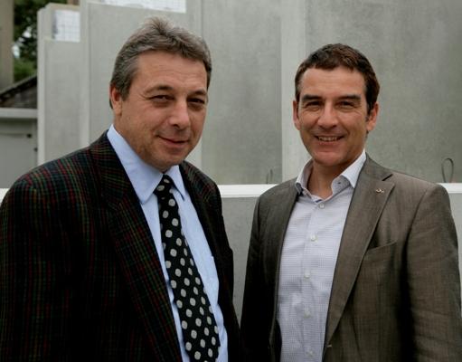 Führen das Unternehmen weiter - Rudolf und Stefan Stüssi