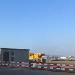 Abheben mit vorfabrizierten Betonelementen von STÜSSI am Flughafen Zürich
