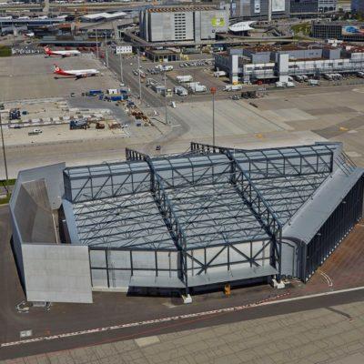 Vorfabrizierte Betonelemente von STÜSSI, Flughafen Zürich