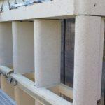 Kunsthaus Zürich - gesetztes Fassadenelement. Die Oberfläche des Elements ist sandgestrahlt.