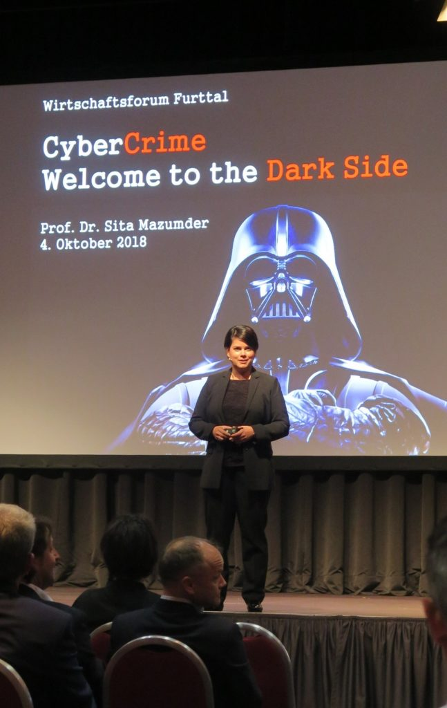 Cyber Crime - welcome to the Dark Side by Prof. Dr. Sita Mazumder