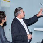 Stefan Stüssi erläutert Details zu den Dimensionen der Elemente.