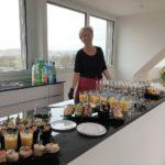 Heidi Frey von Frey's Gourmet Gaudi steht bereit für die Gäste.