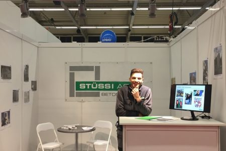 Absolvententag Messestand ZHAW