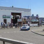 Porsche 911 in der Brems- und Beschleunigungszone