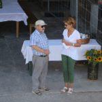 Gespräche mit Festbesuchern am GP Furttal