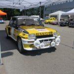 Klein aber oho! Renault 5 Turbo, Baujahr 1984, 1.6 Liter Motor mit 300 PS Leistung.