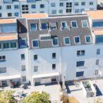 Das komplett mit vorfabrizierten Betonelementen gebaute Mehrfamilienhaus Opus Vita ist seit 1. April 2019 bewohnt.